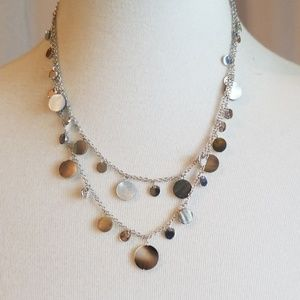 Cookie Lee Silver Toned Necklace